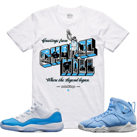 Retro Kings Clothing Chapel Hill Columbia 11s Tee