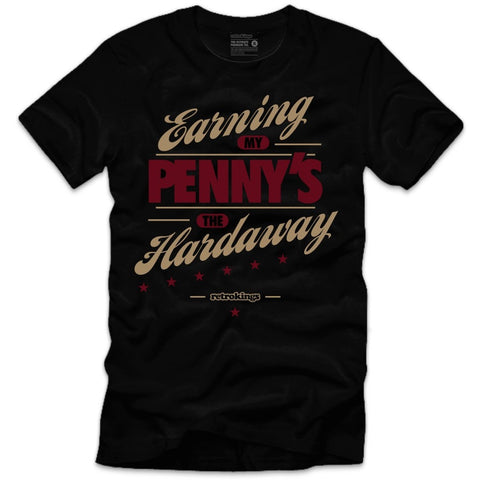 Retro Kings Clothing Hardaway Maroon Foams Tee