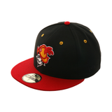 Exclusive New Era 59Fifty Albuquerque Dukes Hat - 2T Black, Red