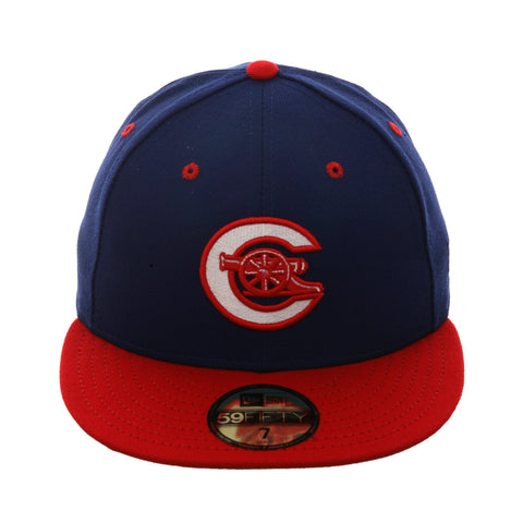 Exclusive New Era 59Fifty Calgary Cannons 1995 Hat - 2T Royal, Red
