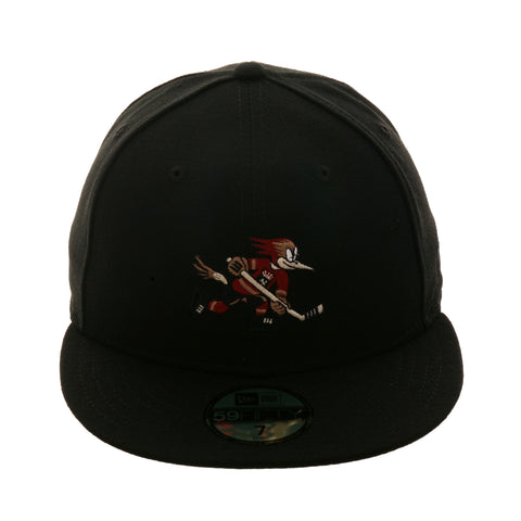 Exclusive New Era 59Fifty Tucson Roadrunners Hat - Black