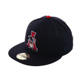 Exclusive New Era 59Fifty AL League Umpire Eagle Hat - Navy