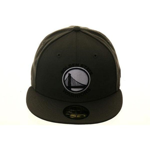 Exclusive New Era 59Fifty Golden State Warriors Hat - Olive,Black,White