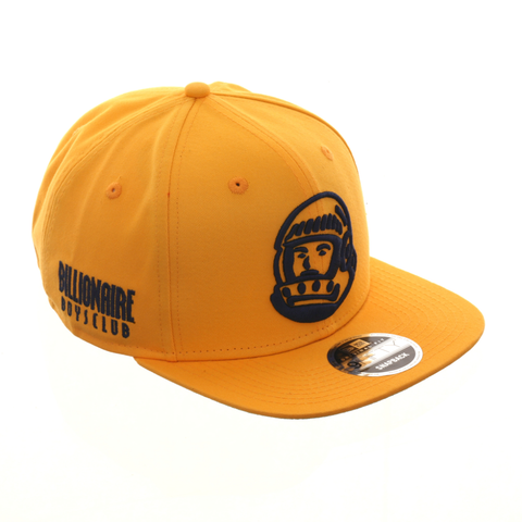 Billionaire Boys Club Helmet Snapback Hat - Gold