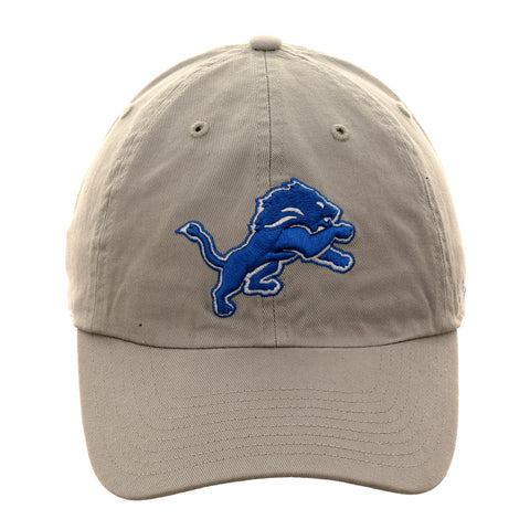 47 Brand Cleanup Detroit Lions OTC Adjustable Hat - Grey