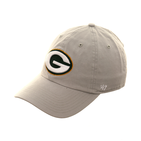 47 Brand Cleanup Green Bay Packers Adjustable Hat - Gray