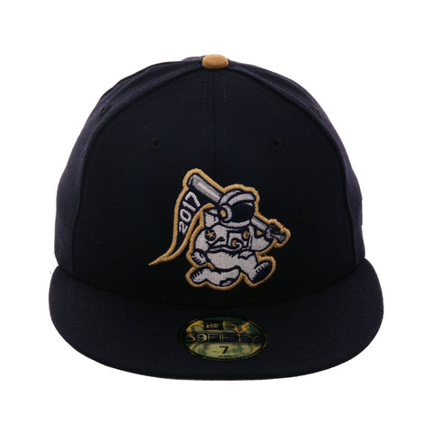 "Exclusive New Era 59Fifty ""Out of This World"" Champs Hat - Navy, Metallic Gold"