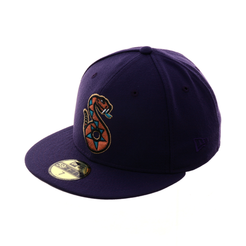 Exclusive New Era 59Fifty Tucson Sidewinders Hat - Purple
