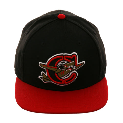 Exclusive New Era 9fifty Capitol City Bombers Snapback Hat - 2T Black, Red