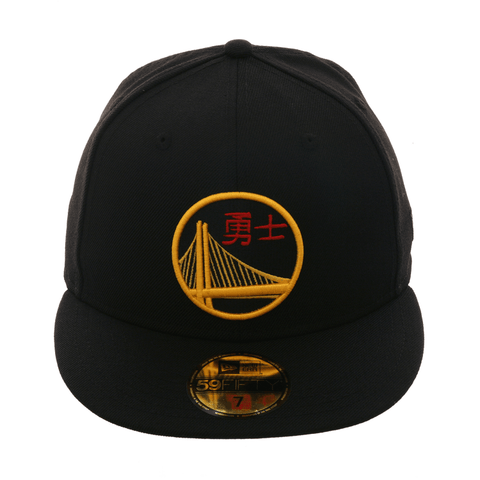 Exclusive New Era 59Fifty Golden State Warriors Chinese New Year Hat - Black