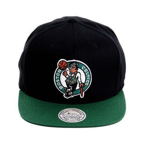 f99d3a3cda45ae Mitchell & Ness Boston Celtics Snapback Hat - 2T Black, Kelly Green