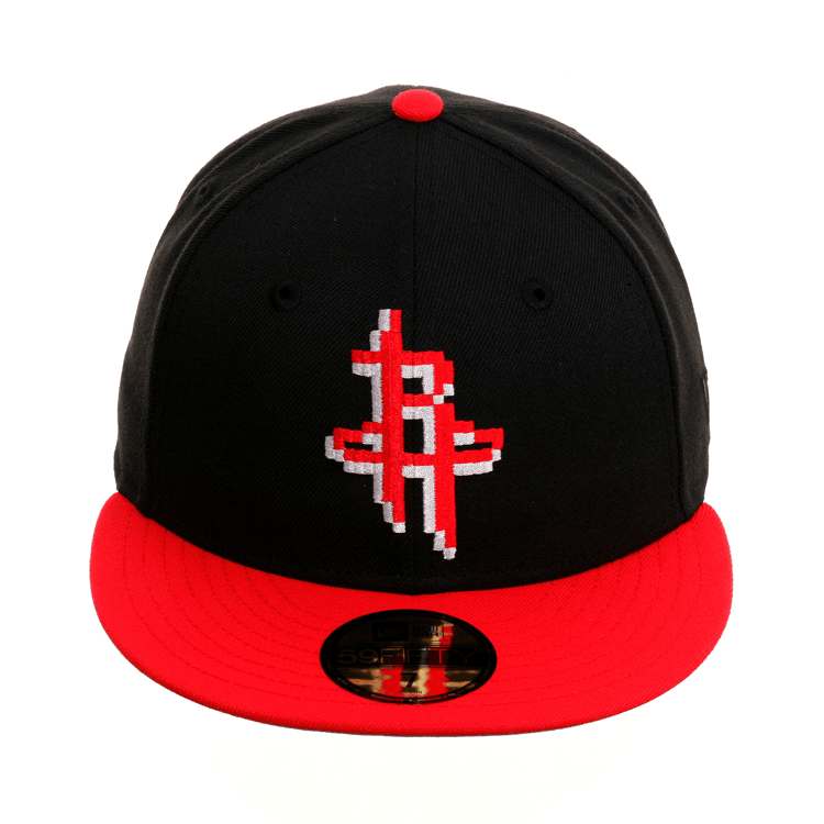 low priced cd506 e953a Exclusive New Era 59Fifty Houston Rockets Pixel Hat - 2T Black, Red –  Exquisite Streetwear Shop