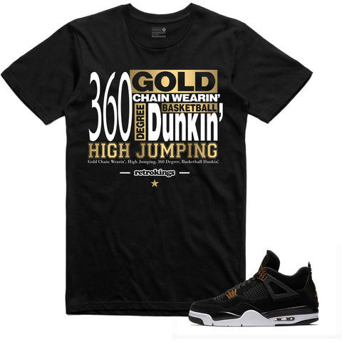Retro Kings Clothing High Jump Royalty 4s Tee