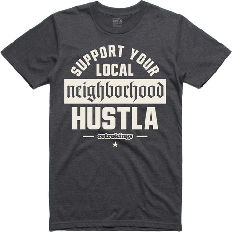 Retro Kings Clothing Hustla Wool 3's Tee