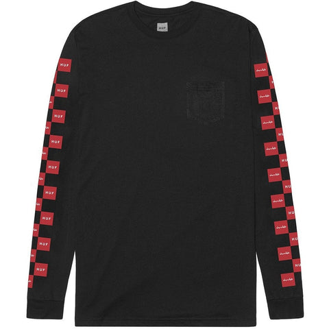 Huf X Chocolate Checkered Long Sleeve Tee