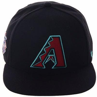47 Brand Arizona Diamondbacks 2016 Alt Sureshot Snapback Hat - Black