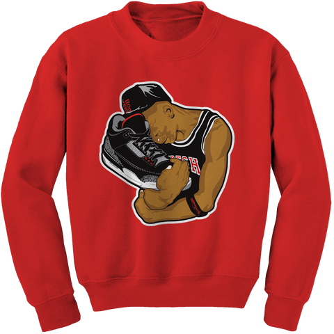 Bobby Fresh Shoe Fetish Cement 3s Crewneck