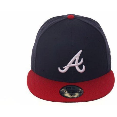 New Era Authentic Collection Atlanta Braves On-Field Fitted Home Hat.