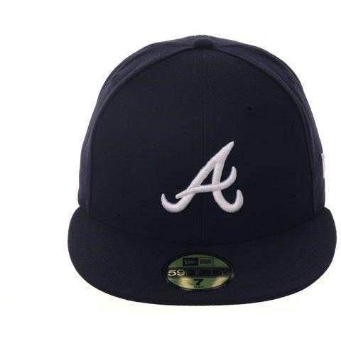 New Era Authentic Collection Atlanta Braves On-Field Fitted Road Hat