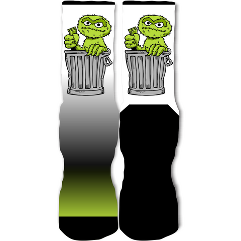 Rufnek Hardware Get That Green Indiglo 14's Socks