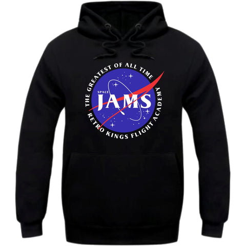 Retro Kings Clothing Jams Space Jam 11's Hoodie