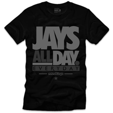 Retro Kings Clothing Jays Wool 12's Tee