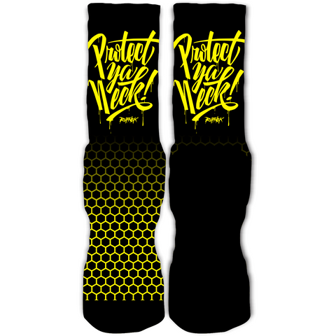Rufnek Hardware Protect Ya Neck Wu-Tang Foamposite Socks