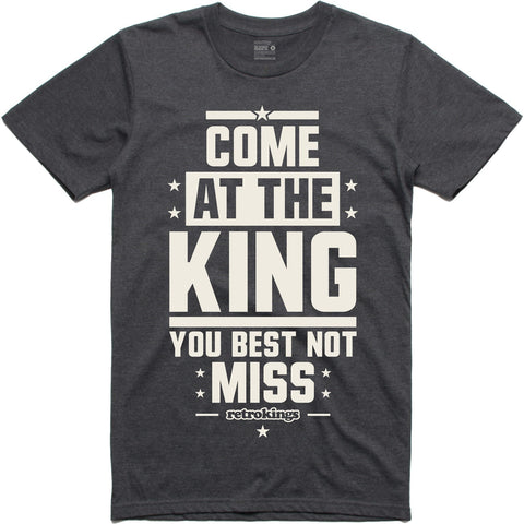 Retro Kings Clothing King Wool 3's Tee