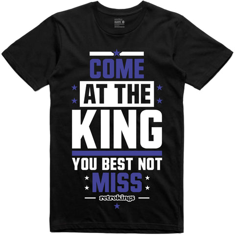 Retro Kings Clothing Come at the King Space Jam 11's Tee