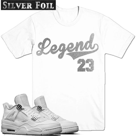 Dapper Sam Legend 23 Pure Money 4s Tee