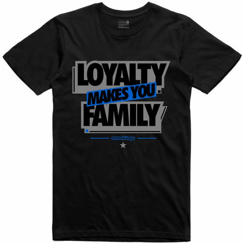 Retro Kings Clothing Loyalty Alternate Motorsport 4s Tee