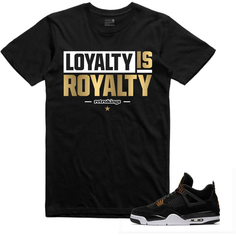 Retro Kings Clothing Loyalty Royalty 4s Tee