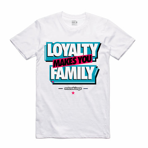 Retro Kings Clothing Loyalty South Beach 8s Tee