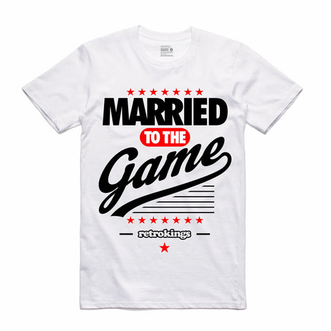 Retro Kings Clothing Married to the Game Candy Cane 14s Tee