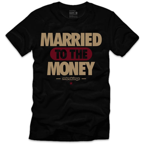 Retro Kings Clothing Married Maroon Foams Tee