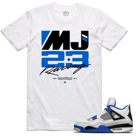 Retro Kings Clothing MJ23 Motorsports 4s Tee