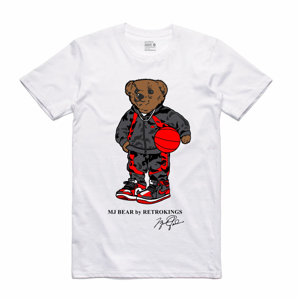 6eae3cfc370 Retro Kings Clothing MJ Bear Pay Homage 1s Tee – Exquisite Streetwear Shop