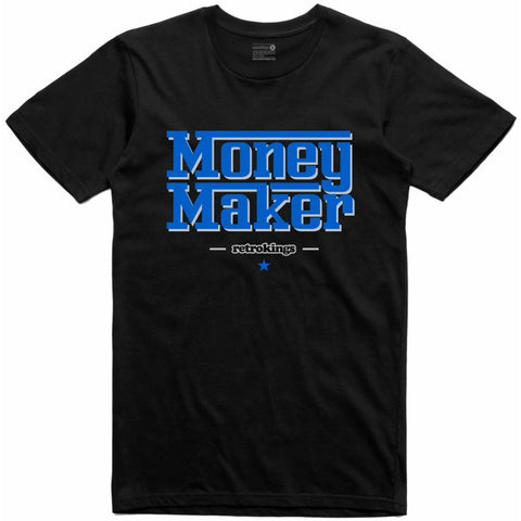 Retro Kings Clothing Money Maker Alternate Motorsport 4s Tee