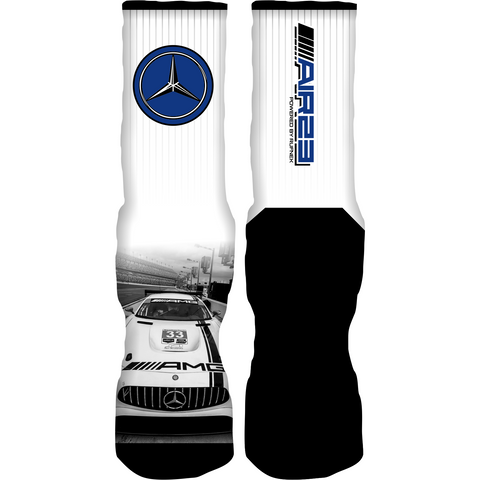 Rufnek Hardware Air 23 AMG Motorsport 4s Socks