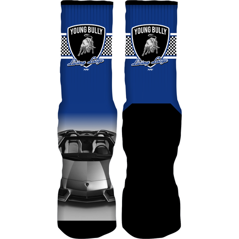 Rufnek Hardware Young Bully Motorsport 4s Socks