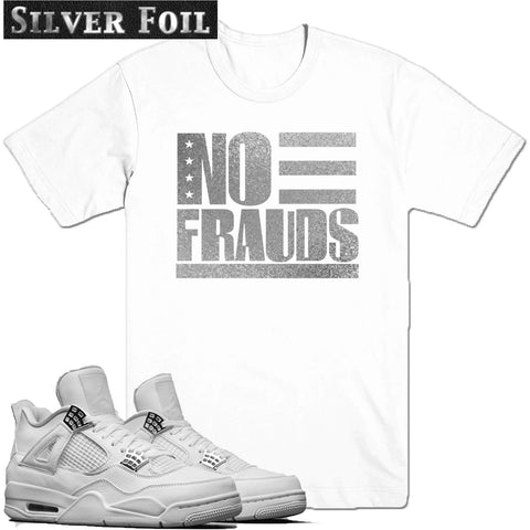 Dapper Sam No Frauds Pure Money 4s Tee