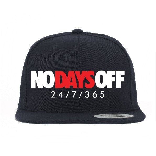 Savage No Days Off Banned 1 s Snapback Hat – Exquisite Streetwear Shop c40d8addad2