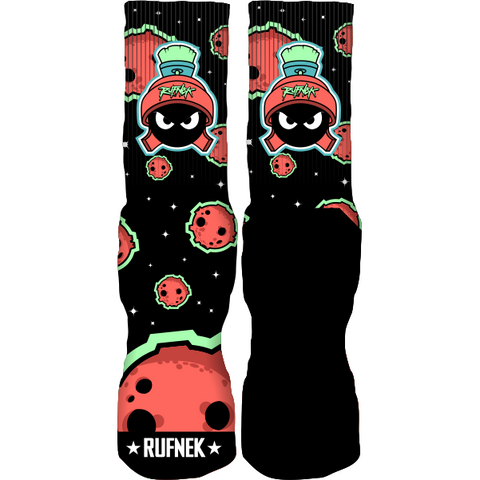 Rufnek Hardware Not of This World Martian 7's Socks