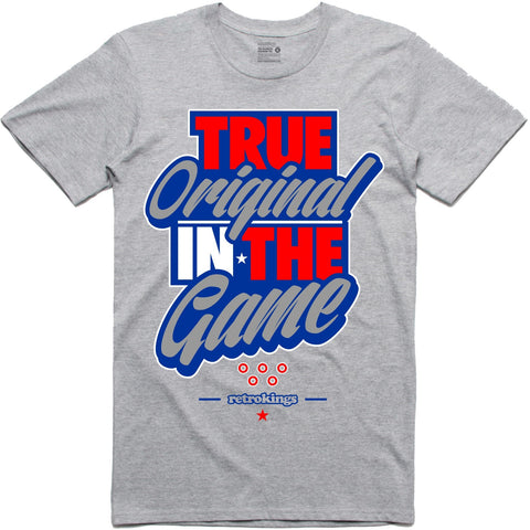 Retro Kings Clothing OG in the Game True Blue 3's Tee