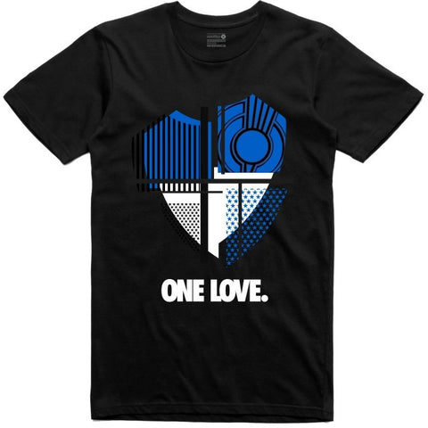 Retro Kings Clothing One Love Royal 1s Tee