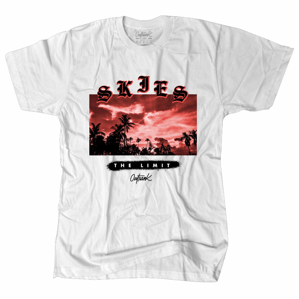 64cac4ca1f8d OutRank Apparel Skies the Limit Hot Lava 4s Tee – Exquisite Streetwear Shop