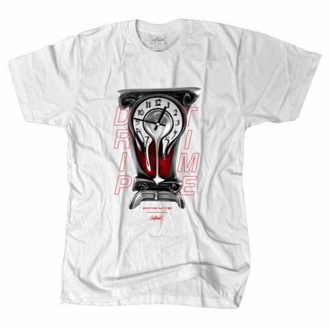 OutRank Apparel Drip Time Red Tinker 3s Tee