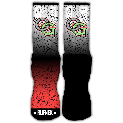 Rufnek Hardware OG Space Jam 5's Socks