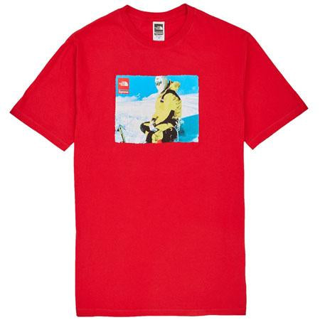 Supreme The North Face Photo Tee- Red