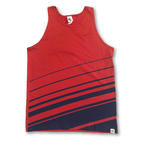Akomplice Shredded Red Tank Top